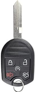 KeylessOption Keyless Entry Remote Control Fob Uncut Blank Ignition Car Key Remote Start for CWTWB1U793