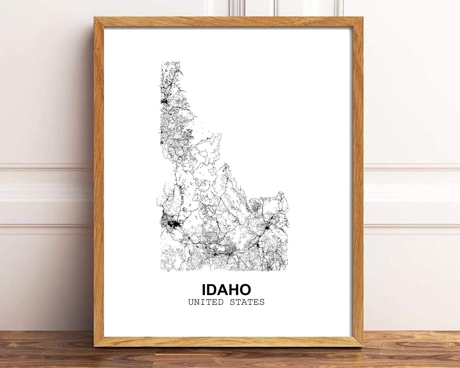 Buy Eleville 20X20 Unframed Idaho United States Country View ...