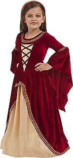 Big Girls' Alessandra The Crimson Princess Costume