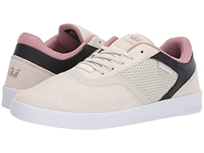 Supra Saint (Bone/Black/White) Men