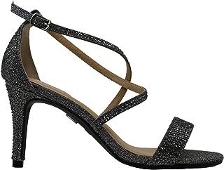 Womens Darria4 Fabric Open Toe Casual Strappy Sandals