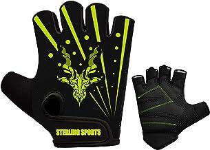 Sterling Sports Gewichtheffen handschoenen Gym Workout Training Fitness Bodybuilding Oefening Fietsen/Fietsen/Fietsen, Rac...