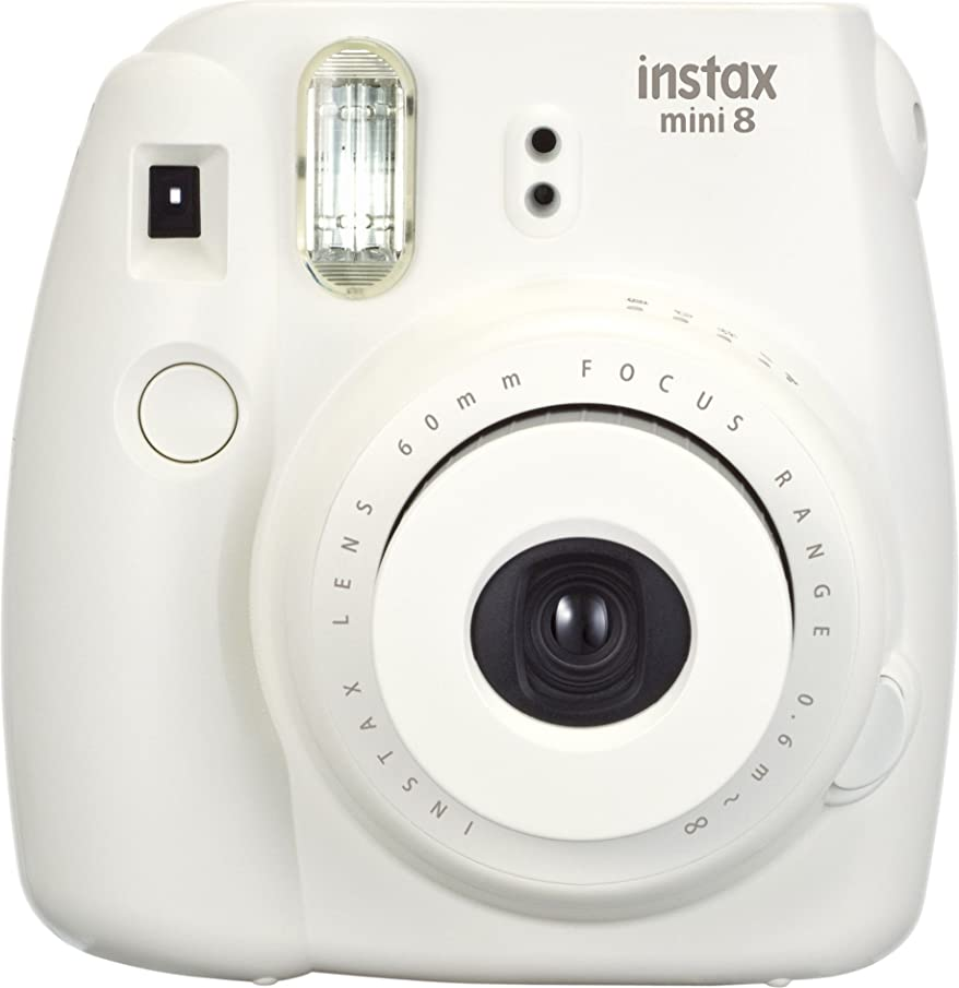 Fujifilm Instax Mini 8 Instant Film Camera (White) (Discontinued by Manufacturer)