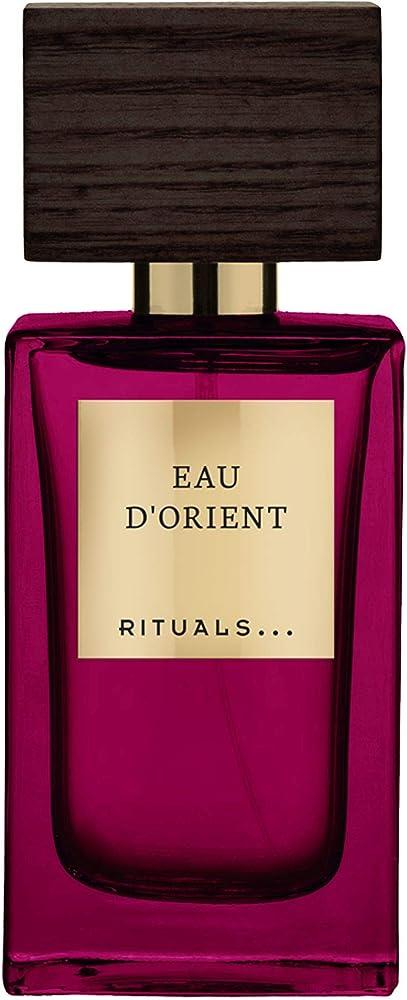 Rituals  eau d'orient,eau de parfum,profumo da donna, 50 ml 1104069