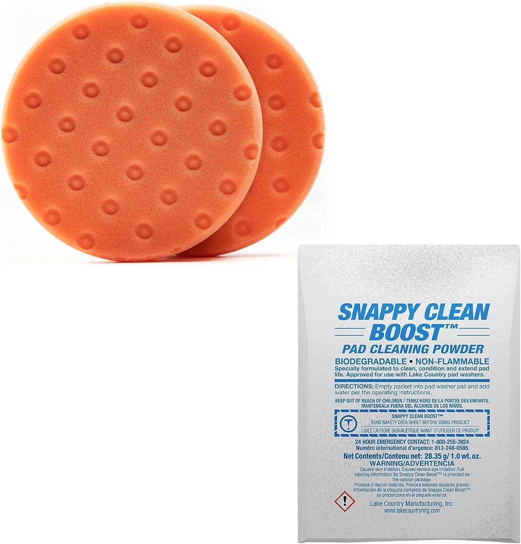 Lake Country Manufacturing Bundle - Cl Snappy CCS Seasonal Wrap Introduction Orange SALENEW very popular! 5.5