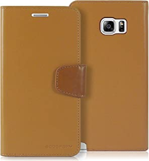 Goospery Sonata Wallet for Samsung Galaxy Note 5 Case (2015) Leather Stand Flip Cover (Camel) NT5-SON-CAM
