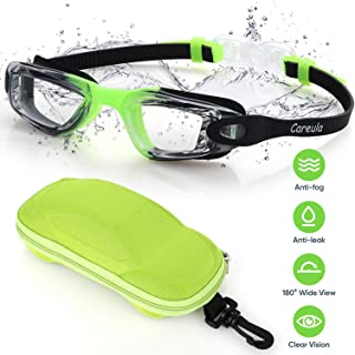Kids Swim Goggles, Swimming Goggles No Leak Anti-Fog UV...