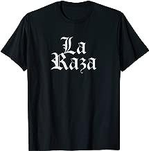 Chicano Chicana Mexican Gift Latina Brown Power La Raza T-Shirt