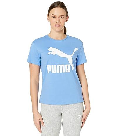 PUMA Classics Logo Tee (Ultramarine) Women