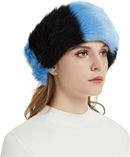 Faux Fur Headbands Outdoor Ear Warmers Earmuffs Ski Hat Winter Warm Elastic Hairbands Head Wraps for Women by Aurya