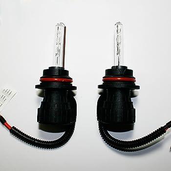 Innovited 55W HID Xenon Bi-xenon Hi/Lo Dual Beam Replacement Bulbs - 9004 9007-6000K