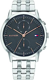 Tommy Hilfiger Men's Analogue Quartz Watch with Stainless Steel Strap 1710431