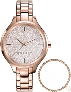 Watch Gift Set Bracelet Ladies Rose Gold