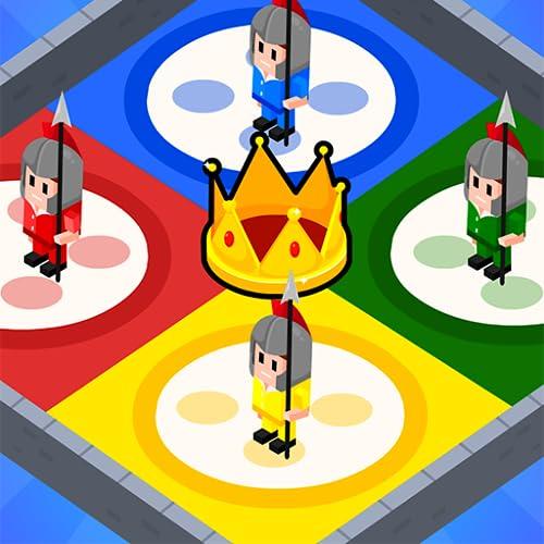 Jeux de société à 4 joueurs: Jeu ludo 2, 3, 4 Jeu multijoueur 3D