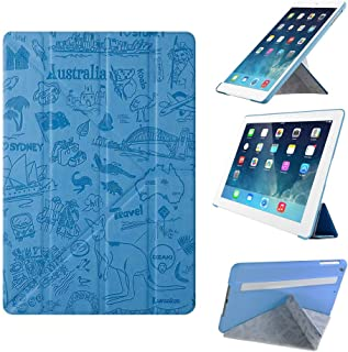 "iPad Mini Case - Ozaki O!coat Travel 360° Multi Angle Smart Case For Apple iPad Mini 3 / 2 / 1 (7.9""). Slim Cover with Portrait & Landscape / Adjustable Viewing Angle / Auto Sleep & Wake - Sydney"