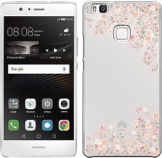 [Breeze-正規品] iPhone ・ スマホケース ポリカーボネイト [透明-Pink] ファーウェイ HUAWEI P9 LITE[P9 LITE] [P9L1810BA]