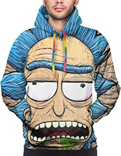 rick and morty hoodie 3d
