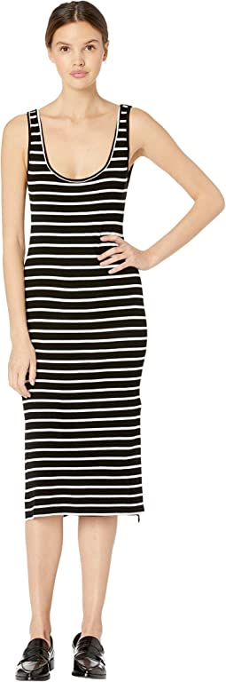 Essentials Striped Midi