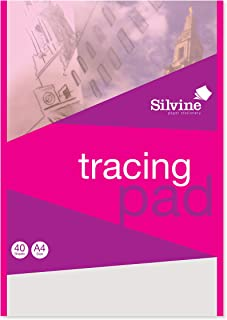 Silvine Notitieboek met transparant papier, A4