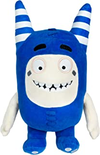 "ODDBODS Pogo Soft Stuffed Plush Toys — for Boys and Girls — Blue (12"" Tall)"