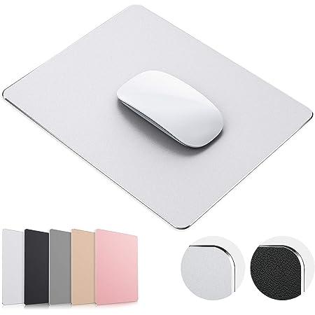 Aluminium Alloy Mouse Pad Round Gaming Mouse Mat Metal Mousepad Waterproof FADDI