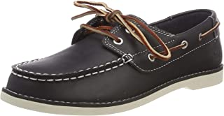 Timberland Seabury Classic Navy Leather Youth Boat Shoes