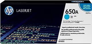 HP 650A | CE271A | Toner Cartridge | Cyan