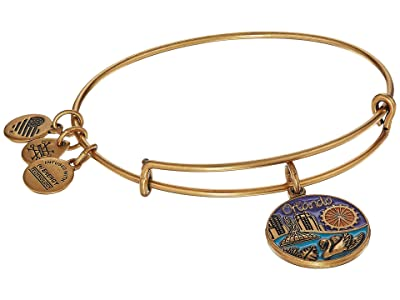 Alex and Ani Places We Love Orlando Bangle (Rafaelian Gold) Bracelet