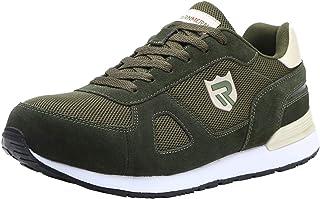 Zapatos de Seguridad para Hombre con Puntera de Acero Zapatillas de Seguridad Trabajo, Calzado de Industrial y Deportiva LM-123k
