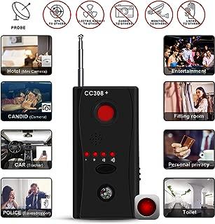 Hidden Camera Detector, RF Detector & Camera Finder, Bug Detector, Counter Surveillance,Anti Spy Camera Detectors with Compass,Locates Hidden Device in Office,Hotel Rooms,Airbnb Excursions,Bathrooms