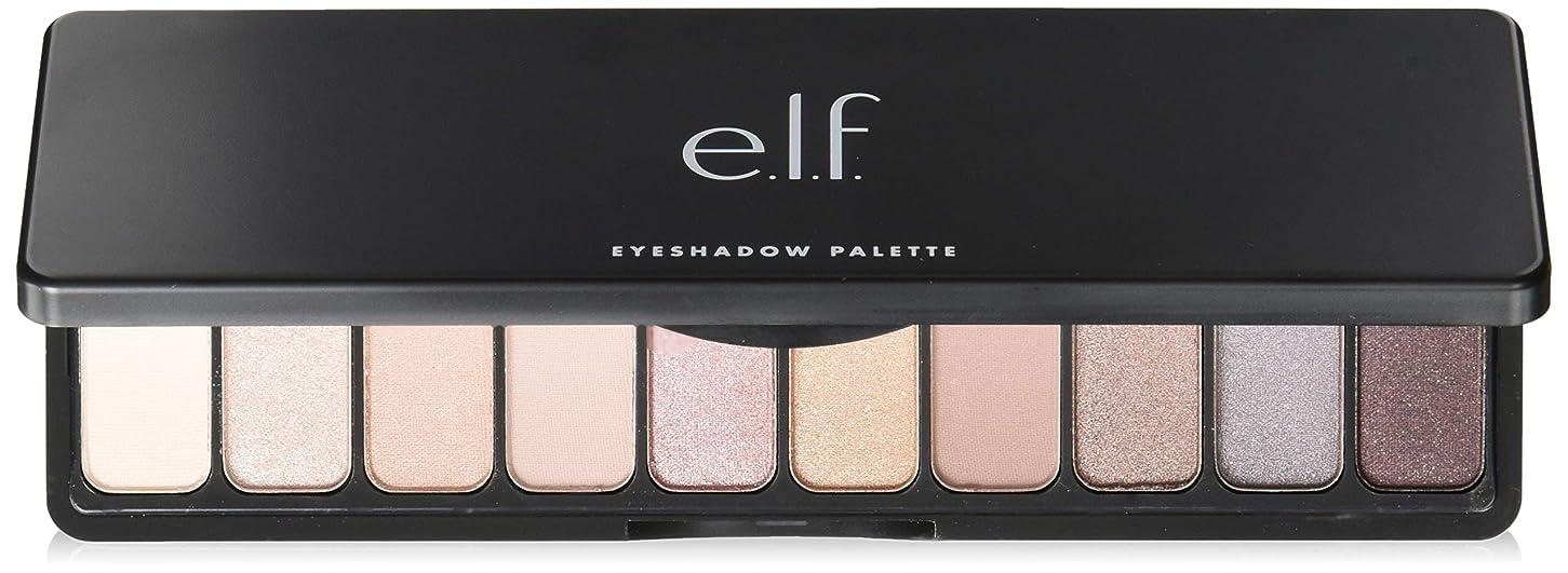 恐れる満足遅滞e.l.f. Eyeshadow Palette - Nude Rose Gold(New) (並行輸入品)