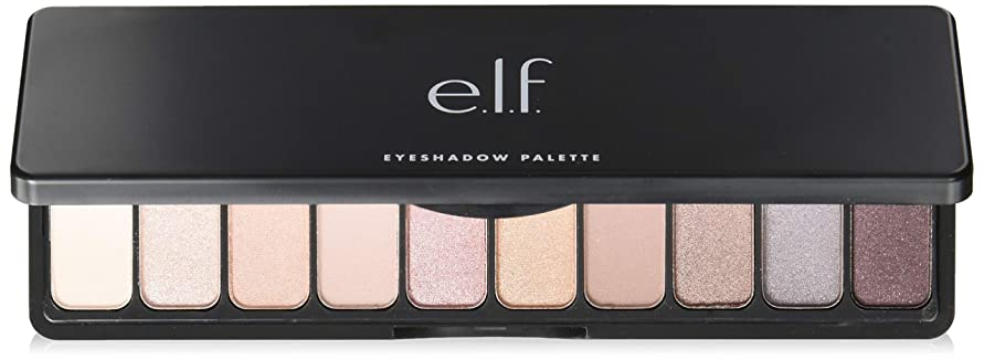 軽くトレイ漏斗e.l.f. Eyeshadow Palette - Nude Rose Gold(New) (並行輸入品)