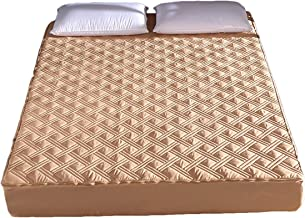 Quilted Mattress Cover Home Six Sides All Inclusive Bed Cover Zippered Ultra Soft Mattress Topper Skin Friendly Comfort Sl...