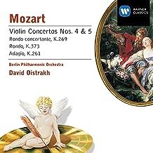 Violin Concerto No. 4 in D K218 (cadenzas by Ferdinand David): III. Rondeau (Andante grazioso - Allegro ma non troppo)