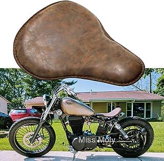 Sella singola sport per Harley Davidson Brown sedile e bici custom