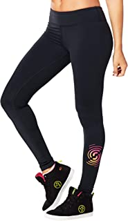 STRONG by Zumba Ankle Length Tummy Control Athletic Workout Leggings for Women