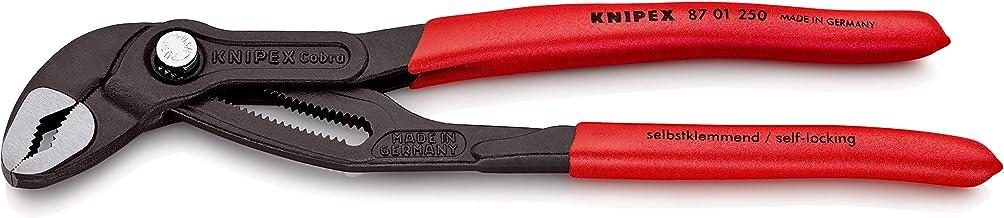 KNIPEX Cobra Pinza regolabile di nuova generazione per tubi e dadi (250 mm) 87 01 250 SB (confezione self-service/blister)