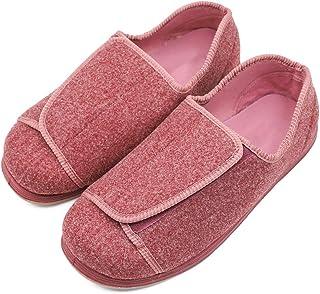 女式超宽*鞋,可调节封口老年女士拖鞋适合***