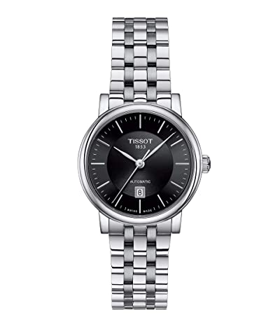 Tissot T-Classic Carson Premium Automatic Lady T1222071105100 (Black) Watches