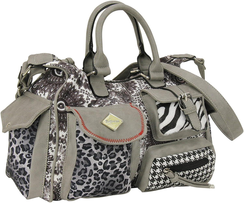 Refresh Damen Handtasche 82990 grau - 34 cm x 23 cm x 12 cm B01K7K98UU  Viele Sorten
