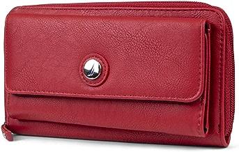 Nautica Bulk Cargo Womens RFID Wallet Clutch Zip Around Organizer
