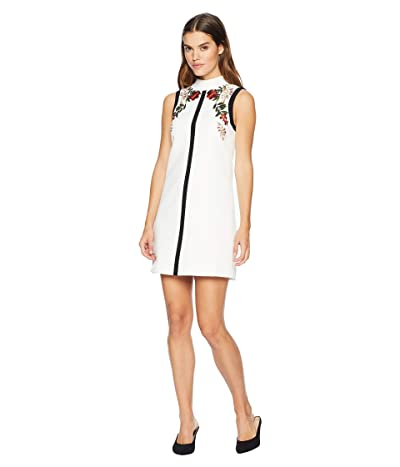 Ted Baker Aimmiid Embroidered Tunic Dress (Ivory) Women