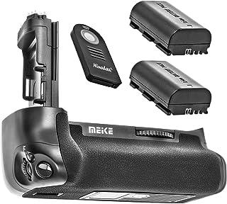 Empuñadura de batería Empuñadura de batería para Canon EOS 7d Mark II + 2x Baterías como LP-E6+ IR Disparador sustituye a Canon BG-E16–Meike