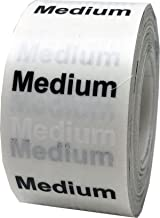 pant size sticker strips