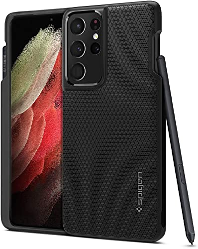 discount Spigen Liquid Air P Designed for Galaxy S21 Ultra Case (2021) - outlet online sale Matte popular Black outlet online sale
