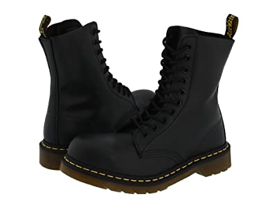 Dr. Martens 1919 (Black Fine Haircell) Boots