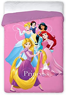 NEW IMPORT EDREDÓN Duvet NÓRDICO Disney 027 Princesas Cama 90/105