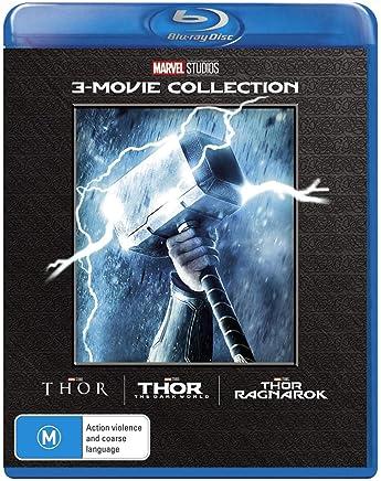 Thor 3 Film Collection Thor/Thor: The Dark World/Thor: Ragnarok