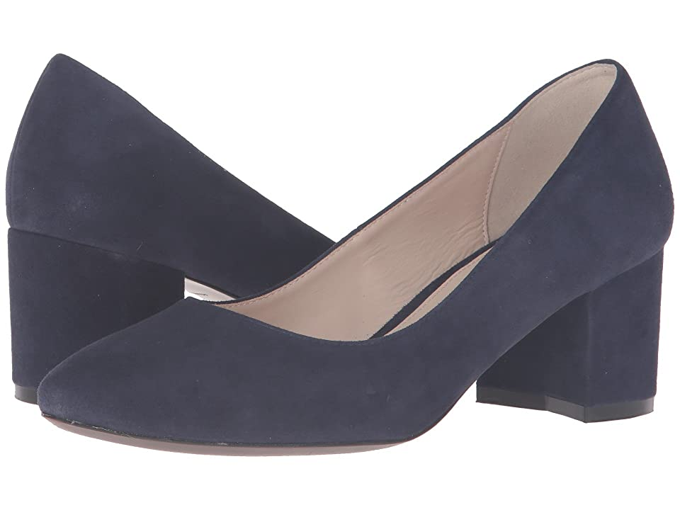 Cole Haan Eliree Pump 55mm (Marine Blue Suede) Women