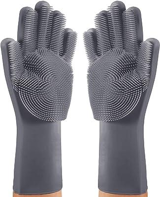 FEDUS Silicone Scrubbing Hand Gloves -1 Pair
